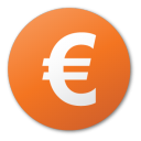 Red currency euro