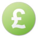Currency pound green
