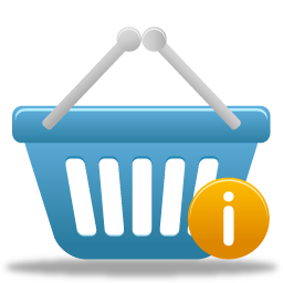 Shopping info basket