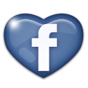 Facebook love heart