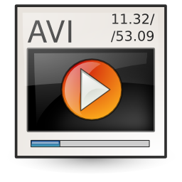 Video X Msvideo / Ultimate Gnome / 128px / Icon Gallery