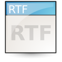 Application rtf