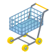 Shopping ecommerce buy cart