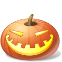 Pumpkin laugh jack o lantern halloween