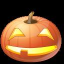 Halloween jack o lantern pumpkin úsměv