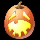 Pumpkin hysterický jack o lantern halloween