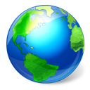 World browser earth internet
