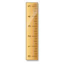 Ruler height measure