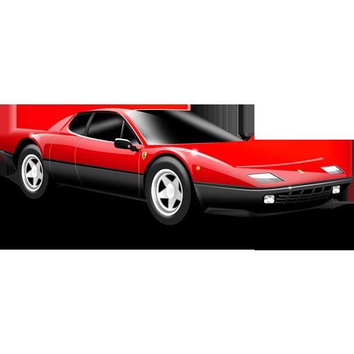 Sports cars ferrari red