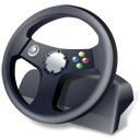 Controller gamepad steering wheel
