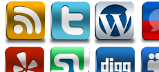 Social Networks Pro Icons