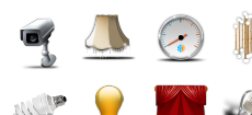 House Management Icon Set