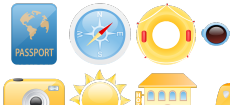 Summer Holiday Icons