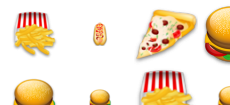 Food Sigma Tiny icons