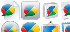 Google Buzz icons