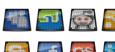 OLED Social Icons