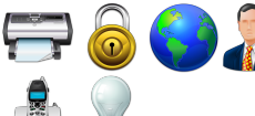 Seven General Icons