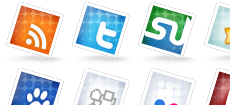 Set of Social Icons no. 2