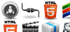 HTML5 icons