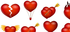 Valentine Love Icon Set